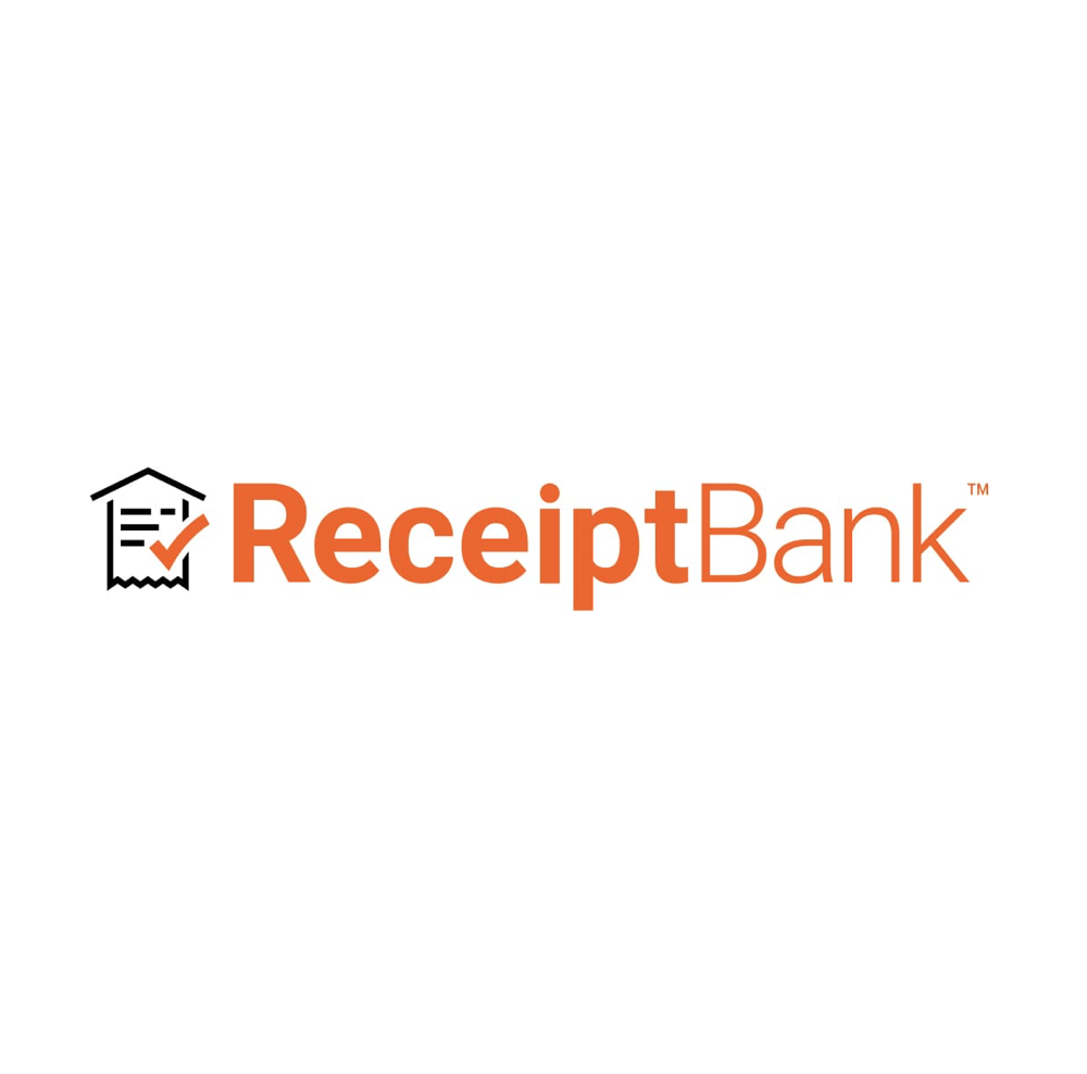 Receipt-Bank logo for complete bookkeeping services